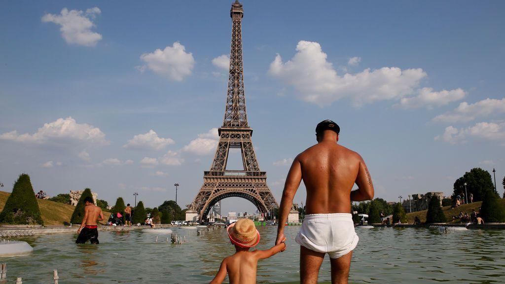 Temperaturas inusualmente altas en Francia