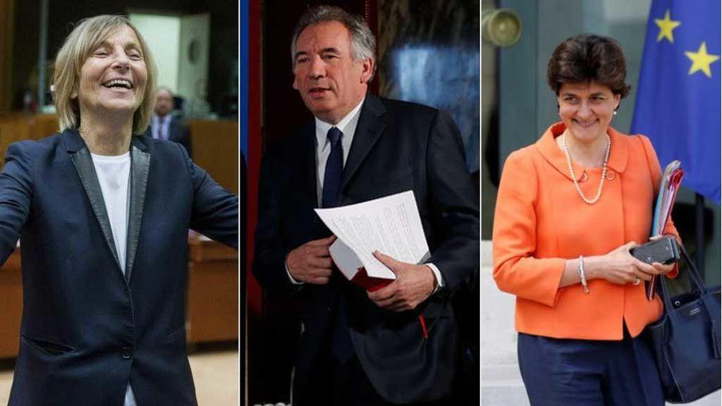 Dimiten tres ministros de Macron en dos días