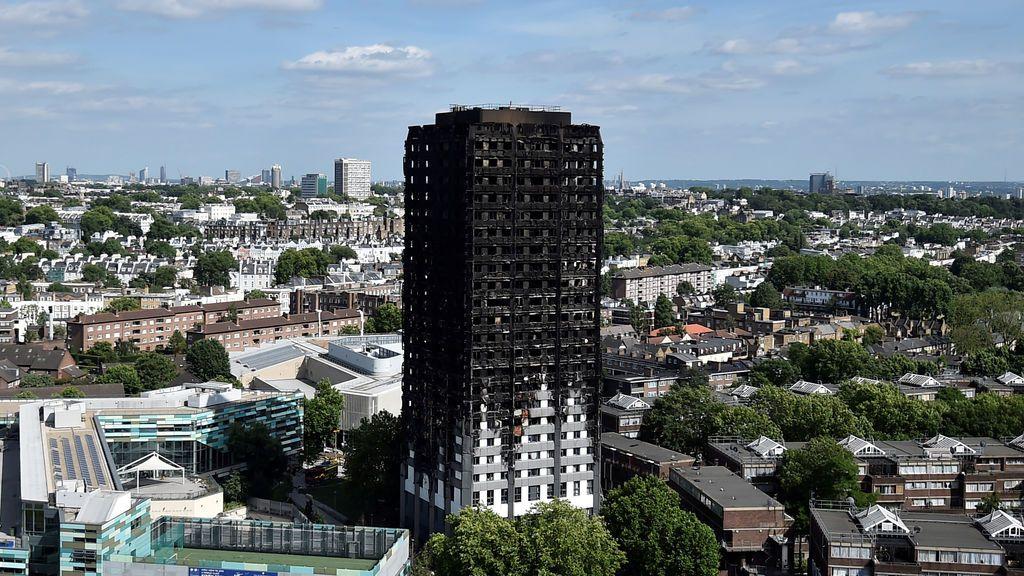 Unos 600 edificios de Reino Unido tendrían un revestimiento inflamable como el de Grenfell