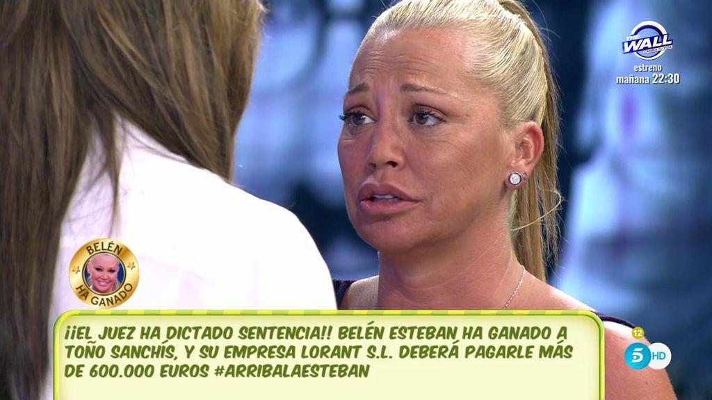 Bel n esteban tras su victoria ahora espa a va a saber for Telecinco fuera de espana