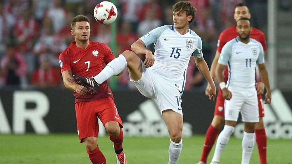 Euro Sub-21, grupo A: Inglaterra-Polonia