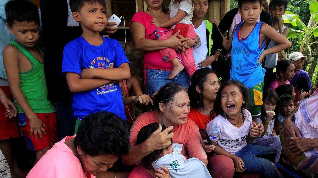 Filipinos huyendo del Estado Islámico