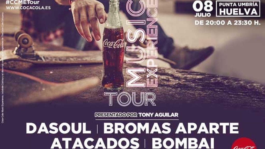 ¡Bombazo! Tenemos cartelazo para el Coca-Cola Music Experience Tour