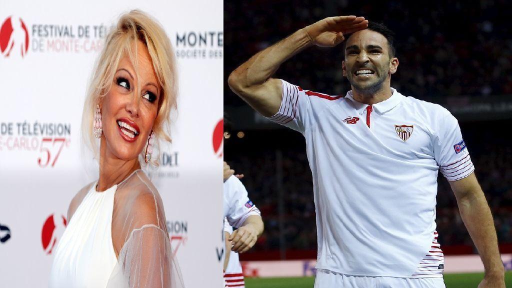 Pamela Anderson y el futbolista Adil Rami, juntos y enamorados en Mónaco