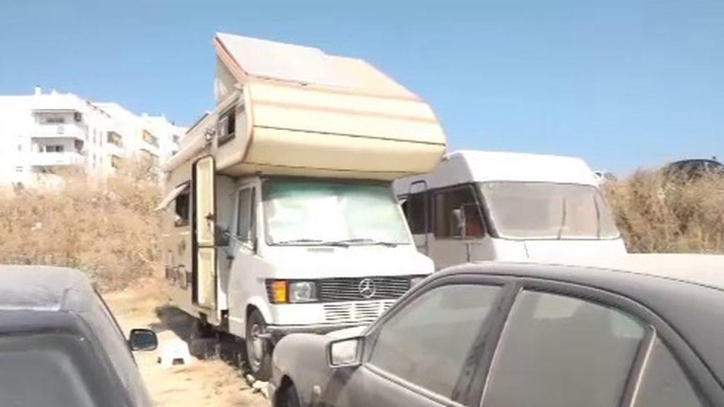 Caravanas para evitar los precios desorbitados de los alquileres