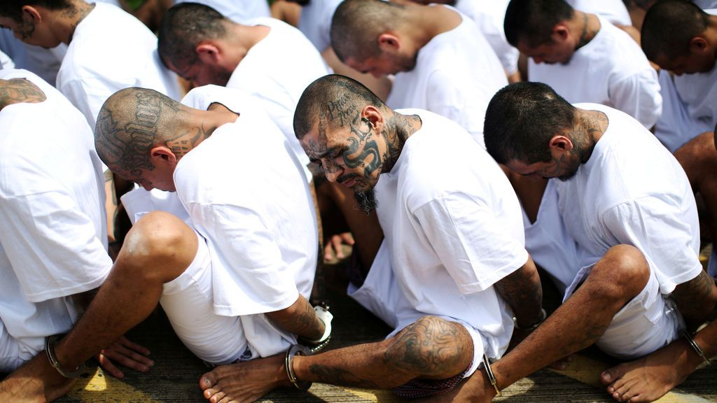 Detenidos de la Mara Salvatrucha