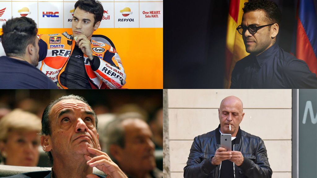 La lista de morosos cambia: salen Pedrosa y Alves, entra Kiko Matamoros y se mantiene Mario Conde