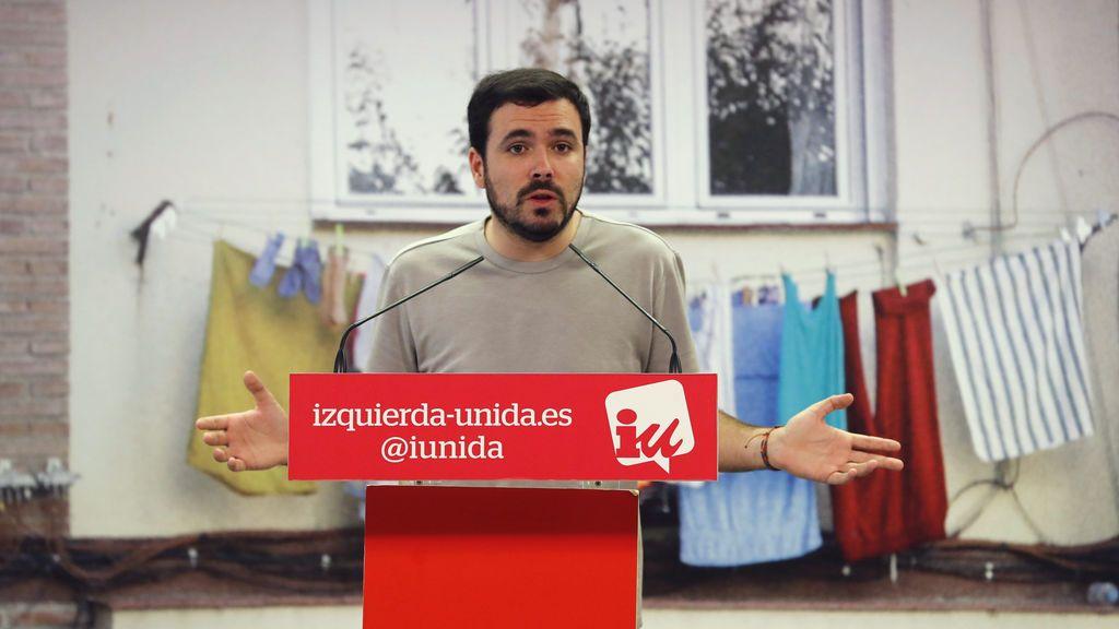 Garzón pide más visibilidad para IU y que se reconozca su trabajo en la formación