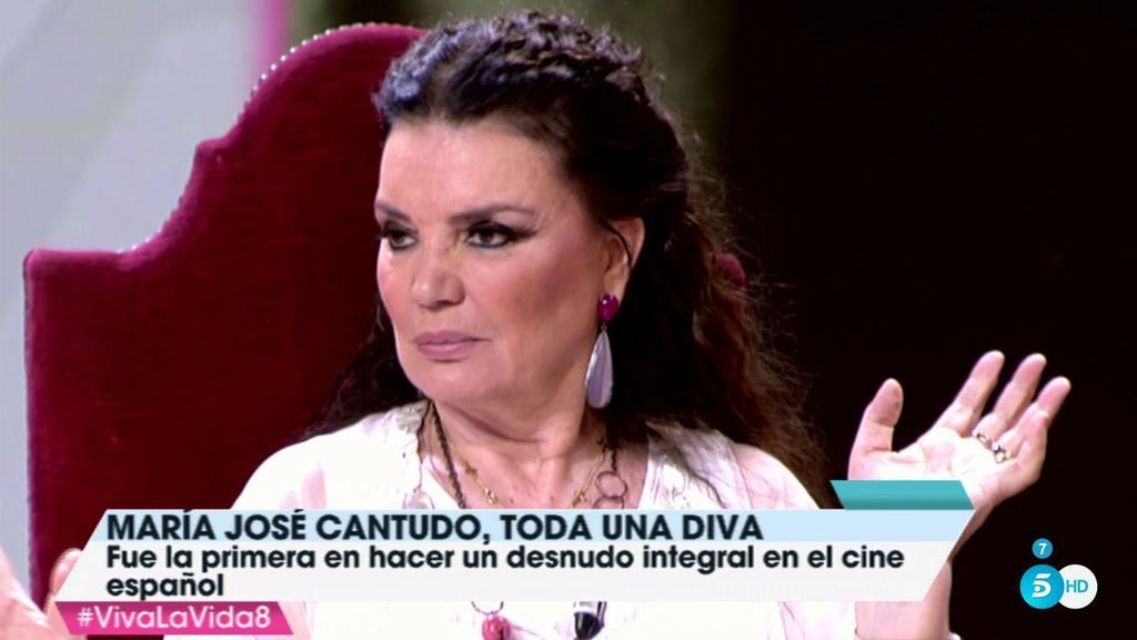 María José Cantudo Recuerda Con Mucho Humor Su Polémico Primer Desnudo
