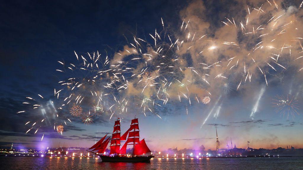 Celebración en San Petersburgo