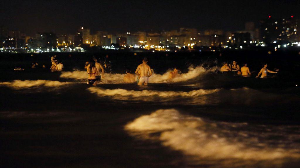 Las  mejores imágenes de la noche de San Juan