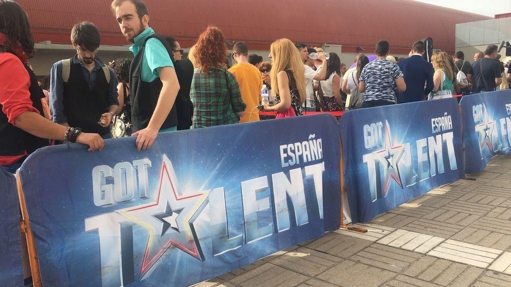 Las mejores imágenes del casting de 'Got Talent'
