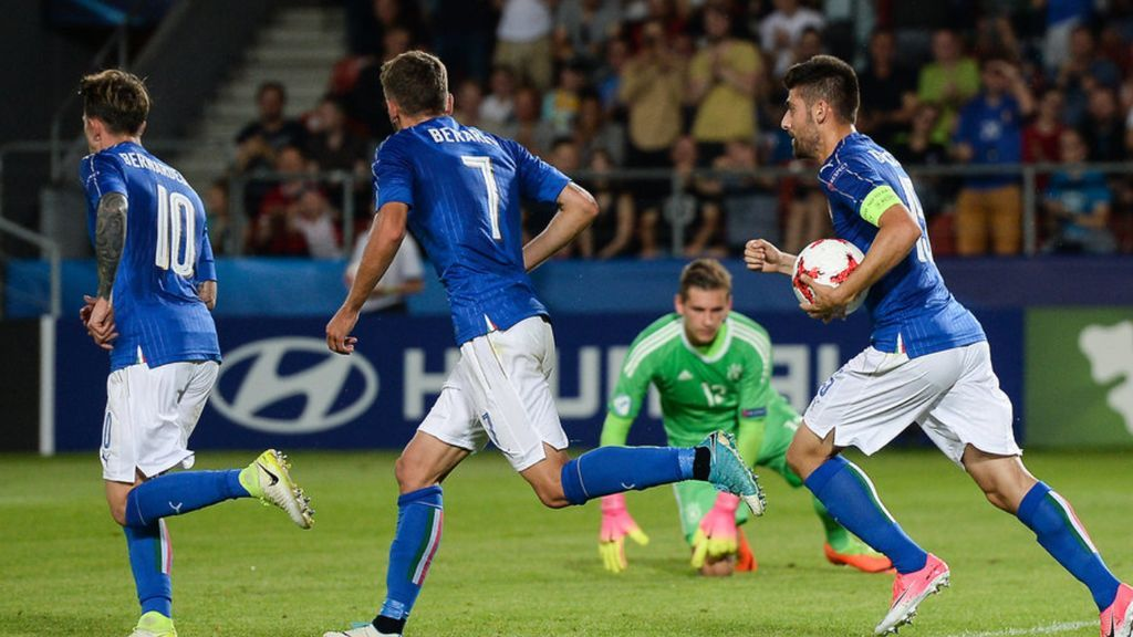 Italia saca pecho ante Alemania, gana y acecha a España en 'semis' (1-0)