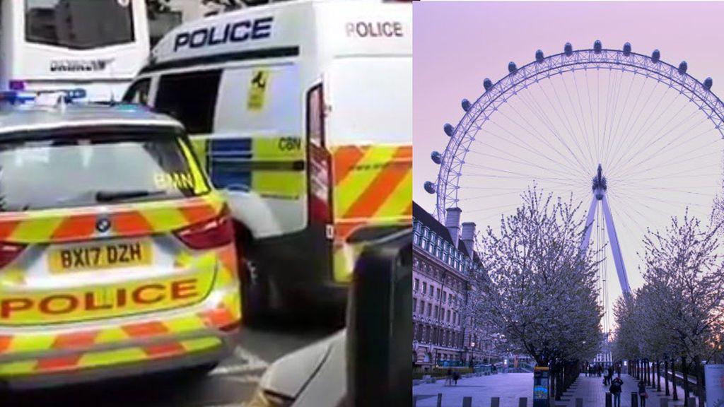 Evacúan el London Eye por un objeto en el Támesis