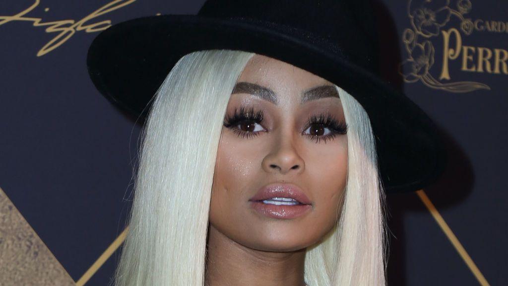 Blac Chyna, la ex novia de Rob Kardashian, sufre un accidente de tráfico