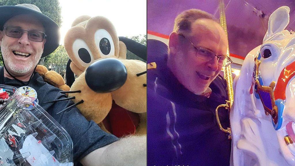 El hombre más feliz del mundo: lleva 2000 días consecutivos en Disneyland