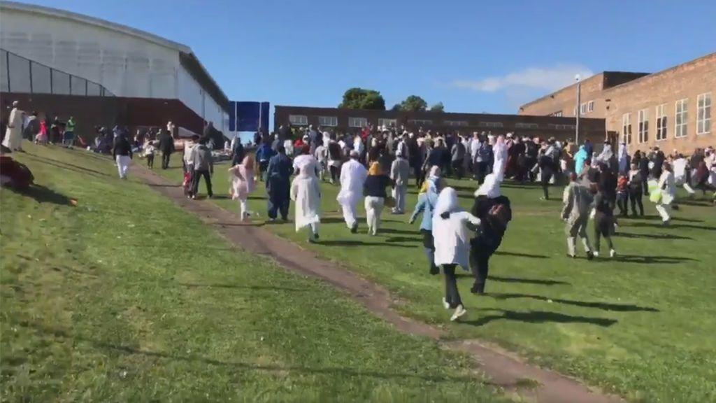 Seis heridos por un atropello durante una celebración del final del Ramadán en Newcastleatropello