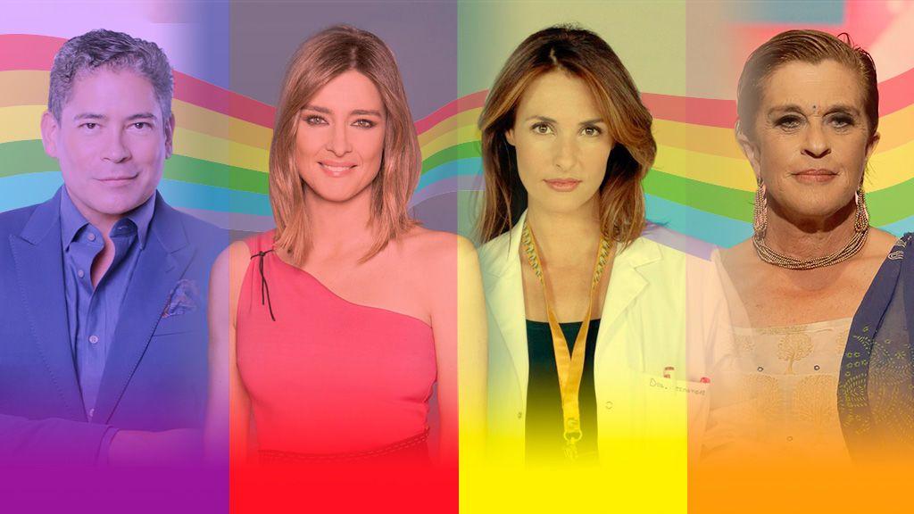 Orgullo y normalización: Los momentazos LGTB de la historia de Telecinco