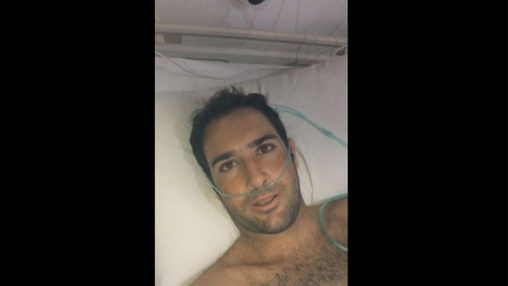 Piden ayuda urgente para traer a España a un surfero cántabro enfermo de leucemia en Bali