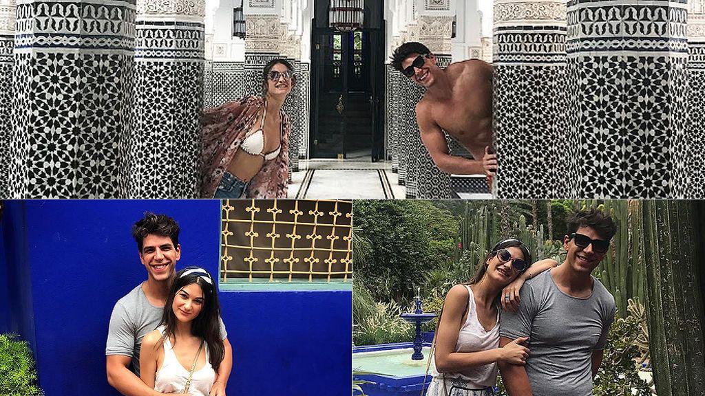 El romántico fin de semana de Diego Matamoros con su chica en Marrakech