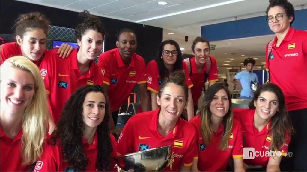 El mensaje de la Selección femenina de baloncesto a Deportes Cuatro tras ganar el Europeo