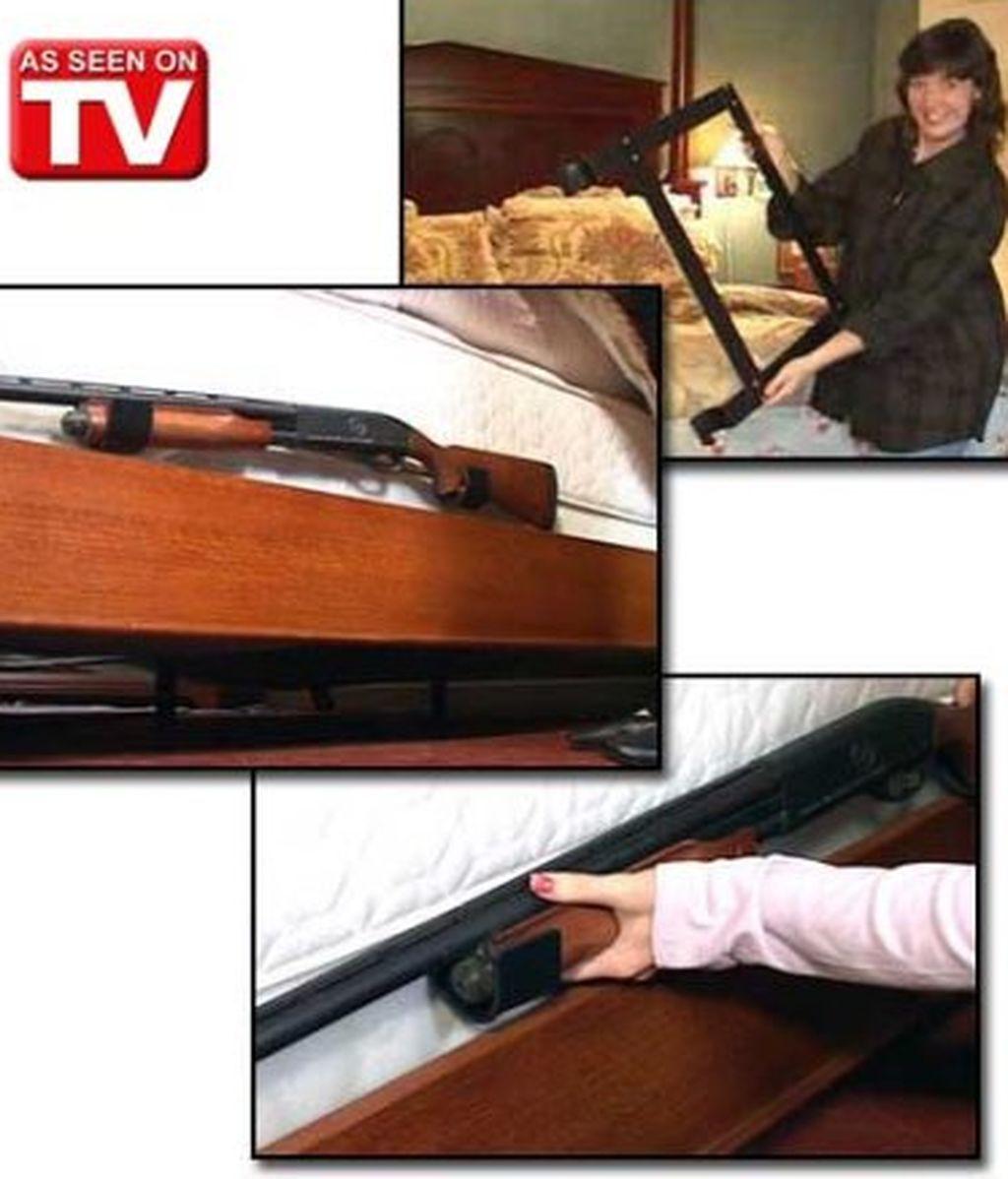 soporte rifle