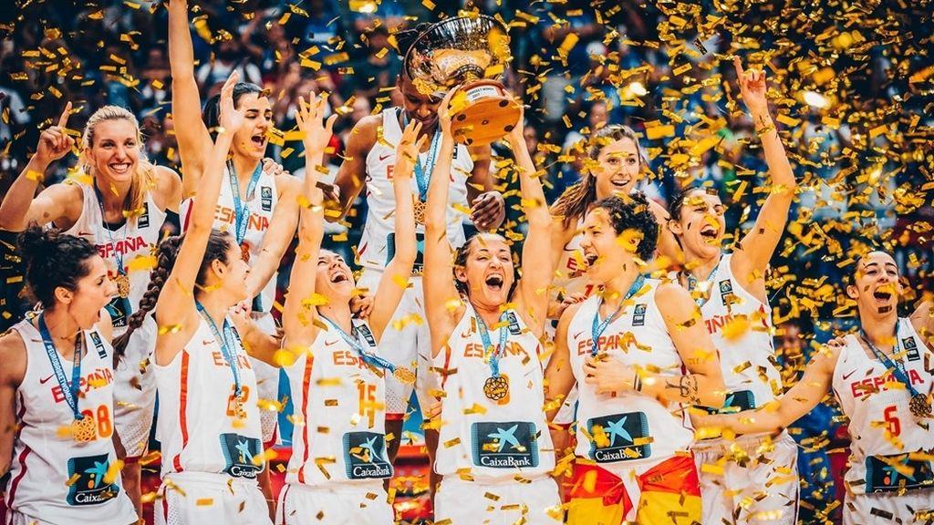 ¡Enhorabuena campeonas! Las imágenes del triunfo de la selección española femenina en el Eurobasket
