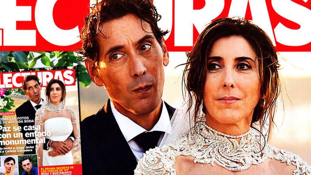 Paz Padilla y Antonio Vidal