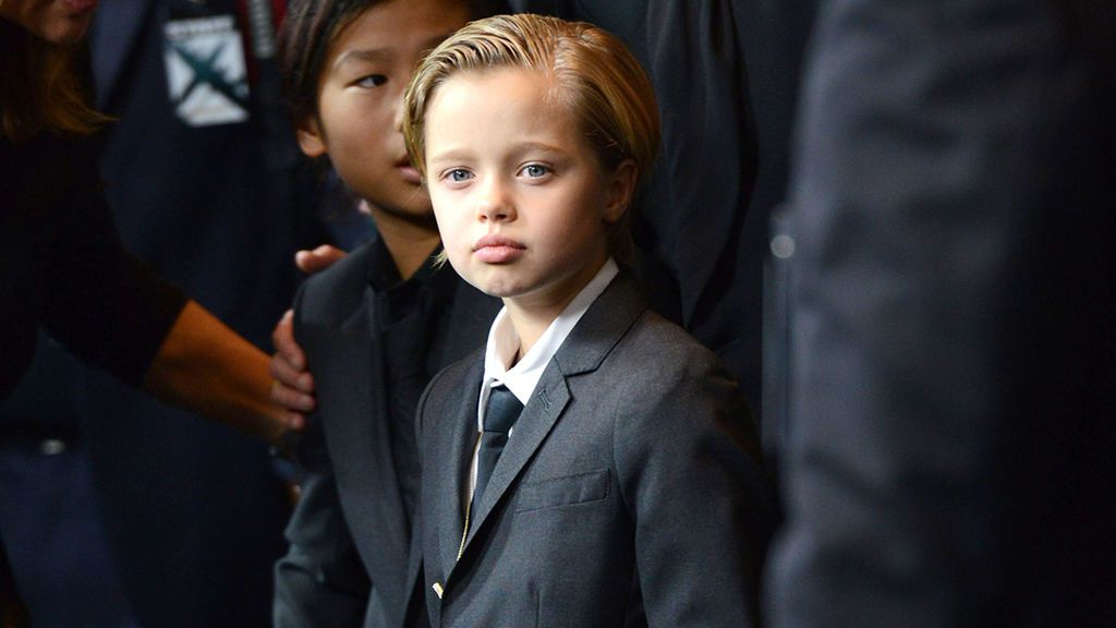 Shiloh , la hija de Brad Pitt y Angelina, inicia el tratamiento para un cambio de sexo