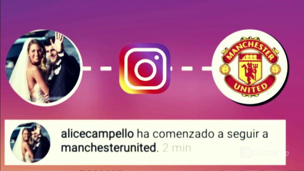 El guiño de la mujer de Morata al Manchester United: ¿Será el definitivo?