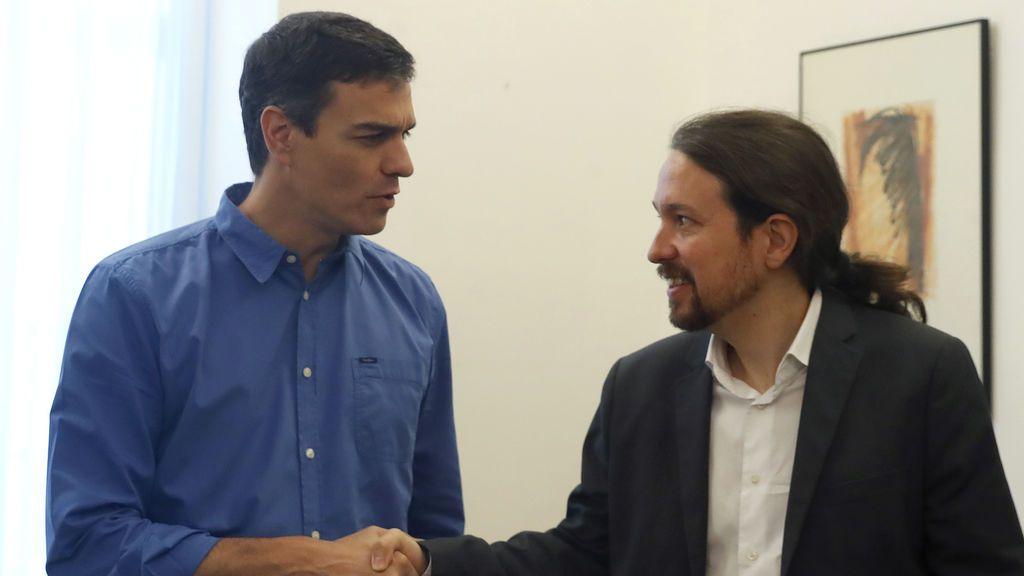 """Iglesias asegura que PSOE y Podemos  """"discrepan"""" sobre la """"viabilidad de echar al PP de la Moncloa"""""""