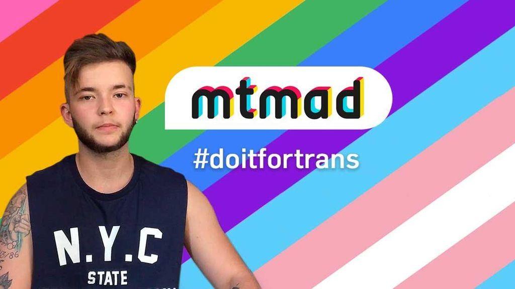 Mtmad se moja por la transexualidad para celebrar el World Pride 2017: ¡mójate tu también!