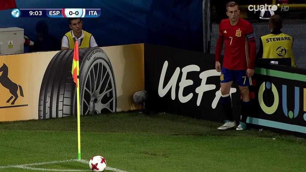 El gol olímpico de Deulofeu que a punto estuvo de clavar a Donnarumma