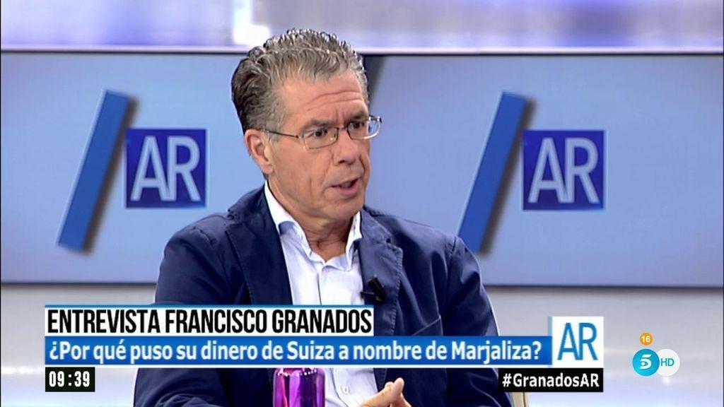 Granados admite su cuenta en suiza tener dinero fuera de for Telecinco fuera de espana