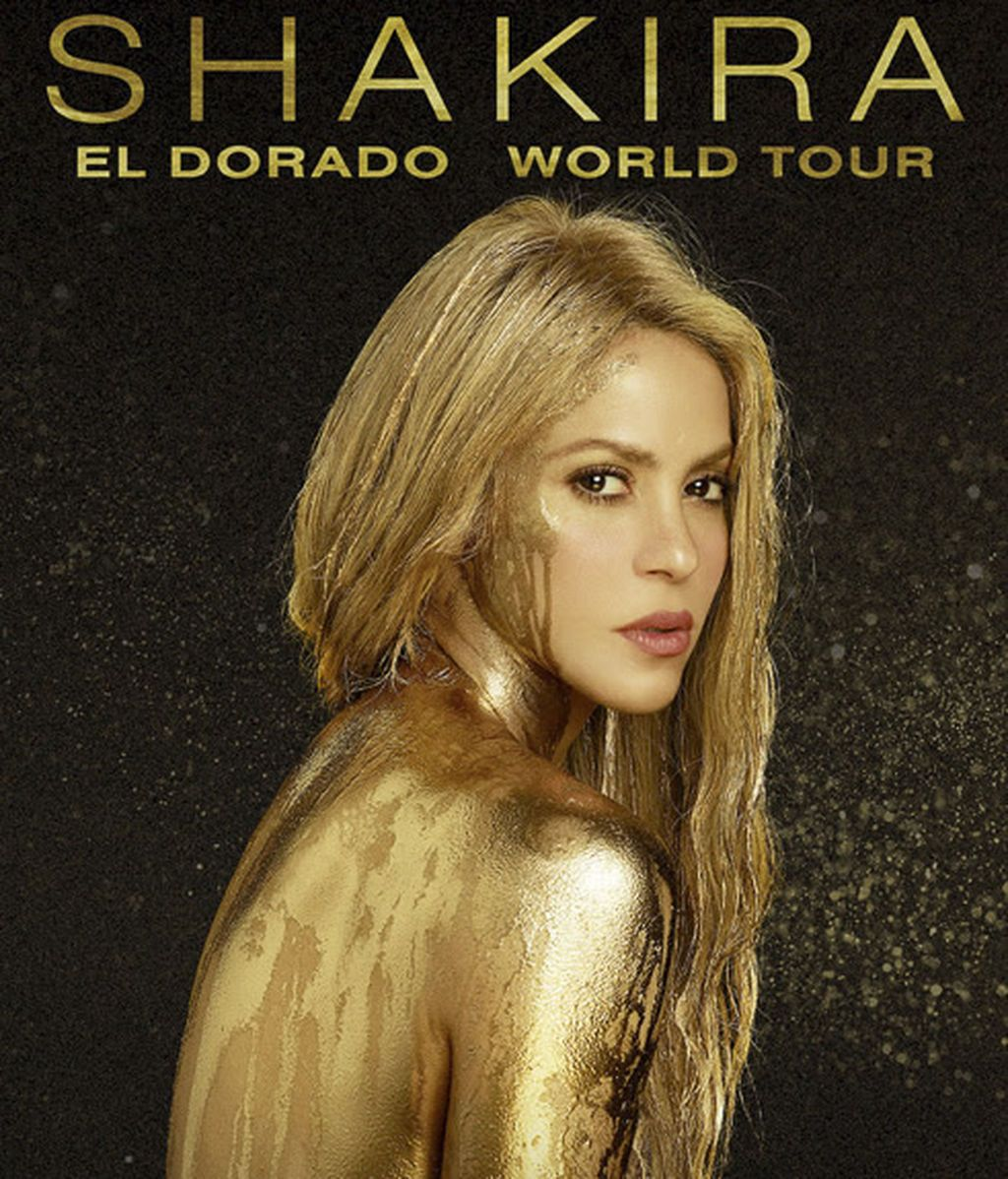 Shakira anuncia la gira mundial de 'El Dorado'