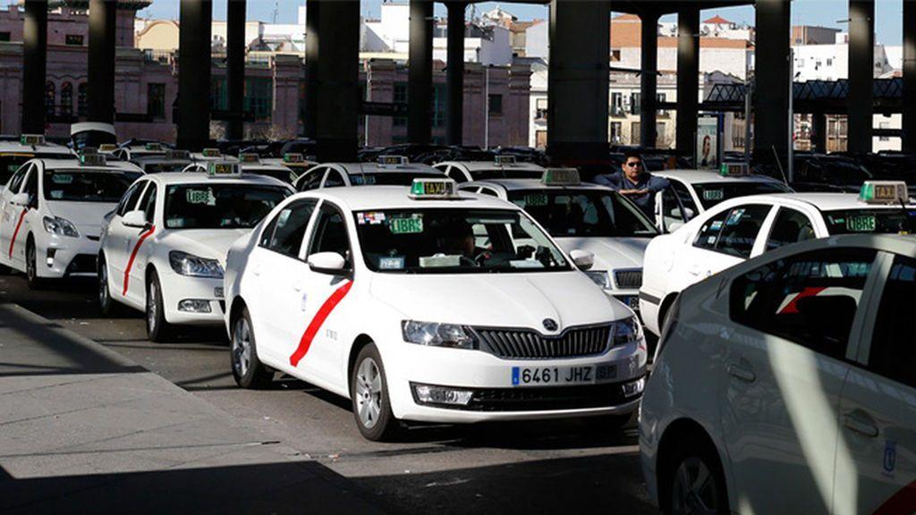 Los taxistas de Madrid, convocados a una huelga de 48 horas a partir de este jueves