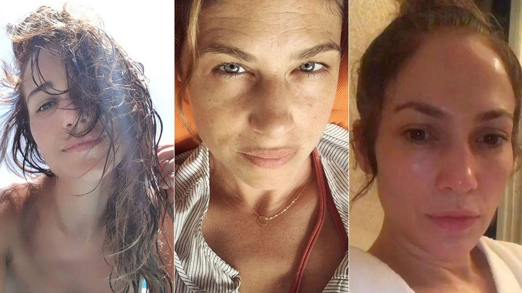 De Paula Echevarría a JLo: ¿quién gana en este ranking de naturalidad 'no make-up'?