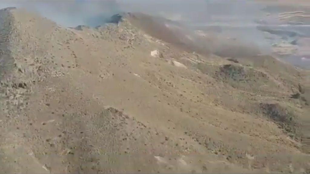 El Parque Natural Cabo de Gata-Níjar y el de La Breña en Barbate, afectados por los incendios