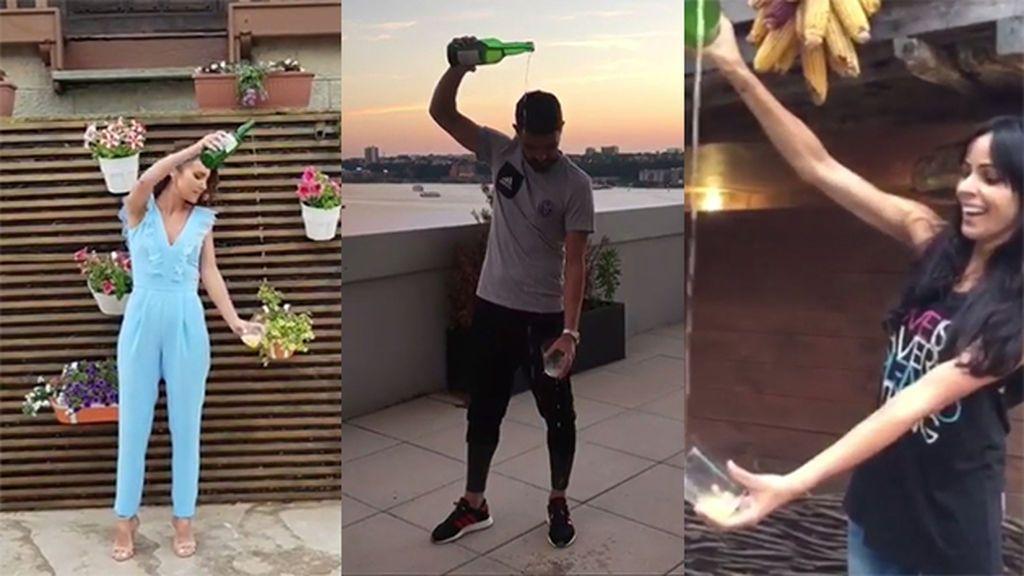 El #SidraChallenge: el nuevo reto viral al que se suman los vips