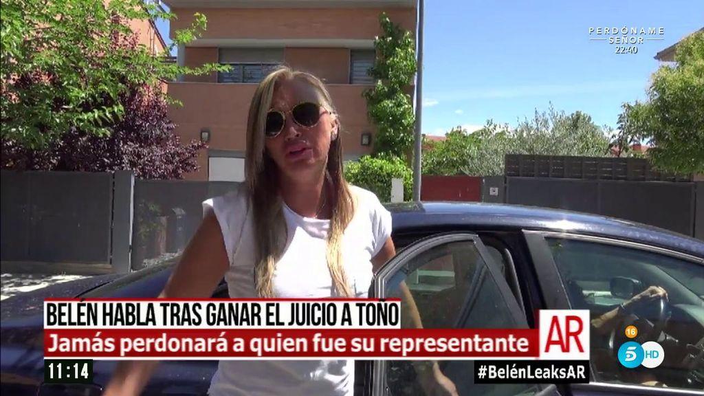 """Belén Esteban rompe su silencio: """"Quiero ver a Toño en la cárcel"""""""