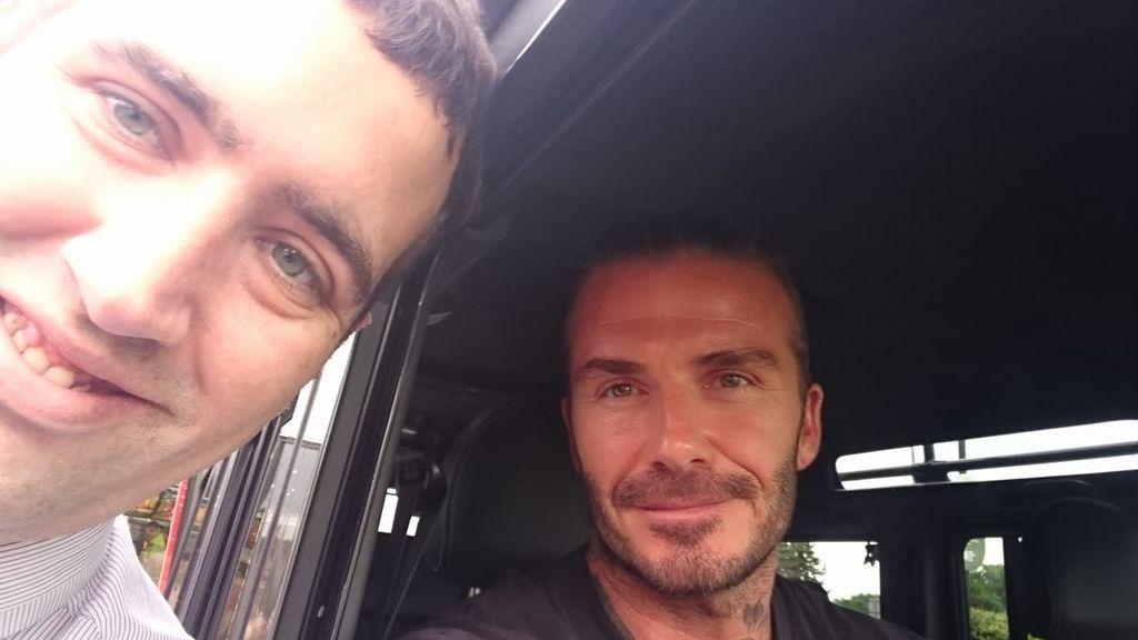 Un descuido de David Beckham revela su gran secreto: ¿Qué pide en el McDonald's?