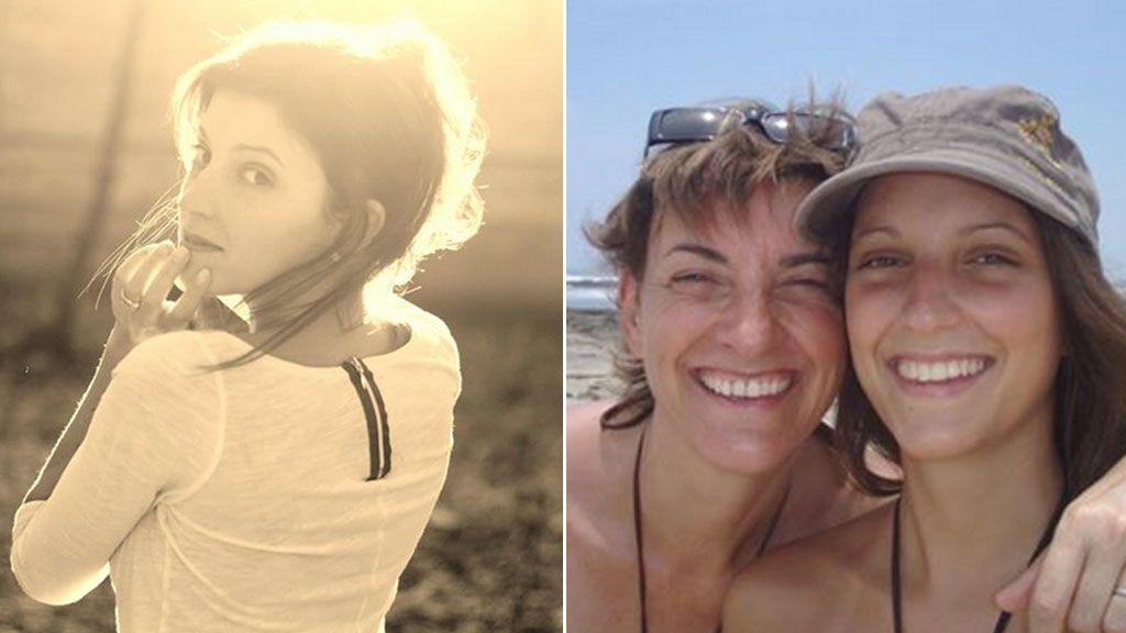 Elise Dallemagne y su madre