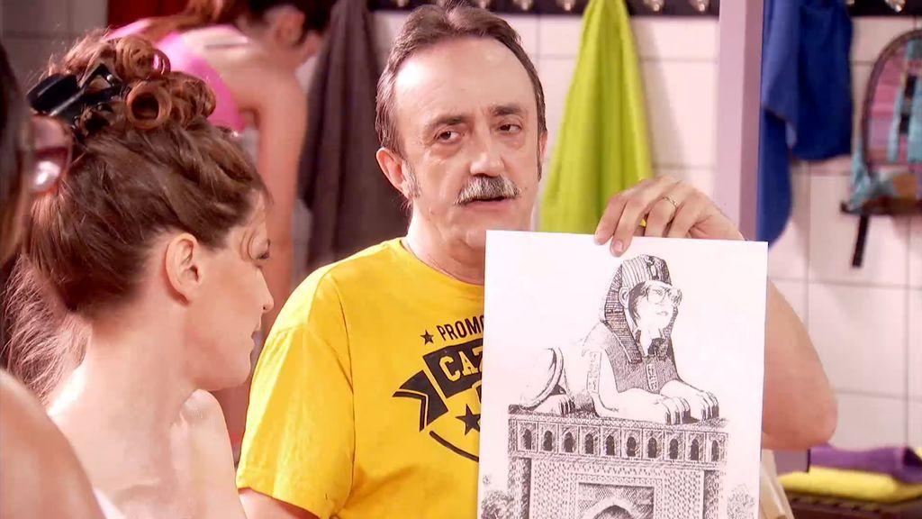 La última carta de Carmelo para conquistar a Secun: ¡regalarle un mausoleo por su boda!