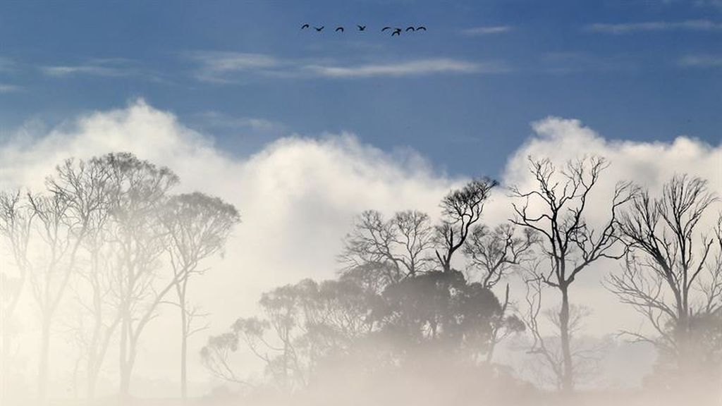 Clima de invierno en Tasmania