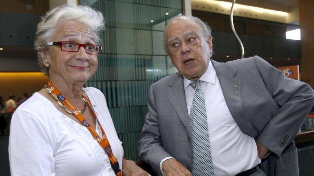 Marta Ferrusola y Jordi Pujo