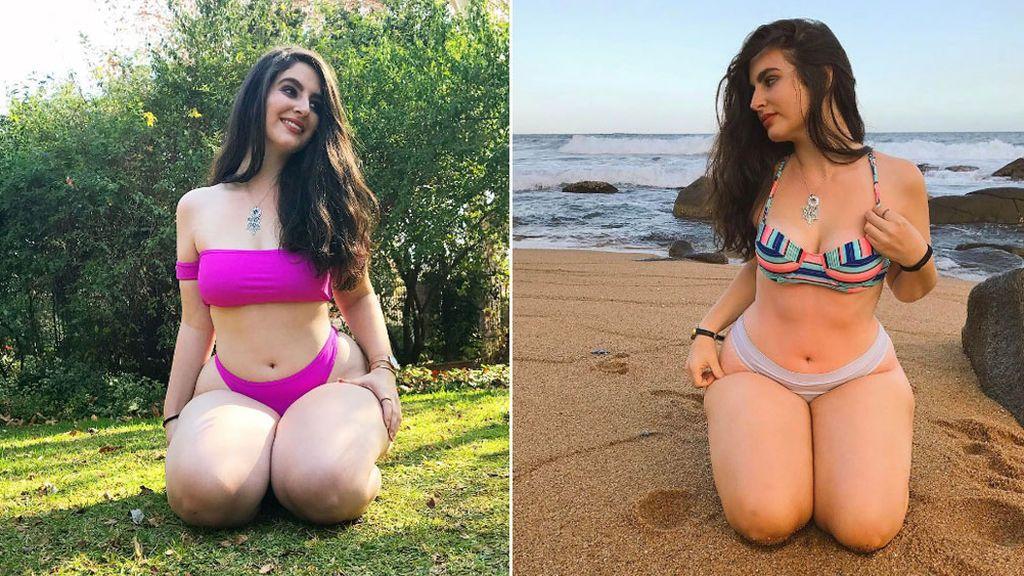 """La foto viral de una chica en bikini: """"Sexy no es una talla, sino un estado de ánimo"""""""