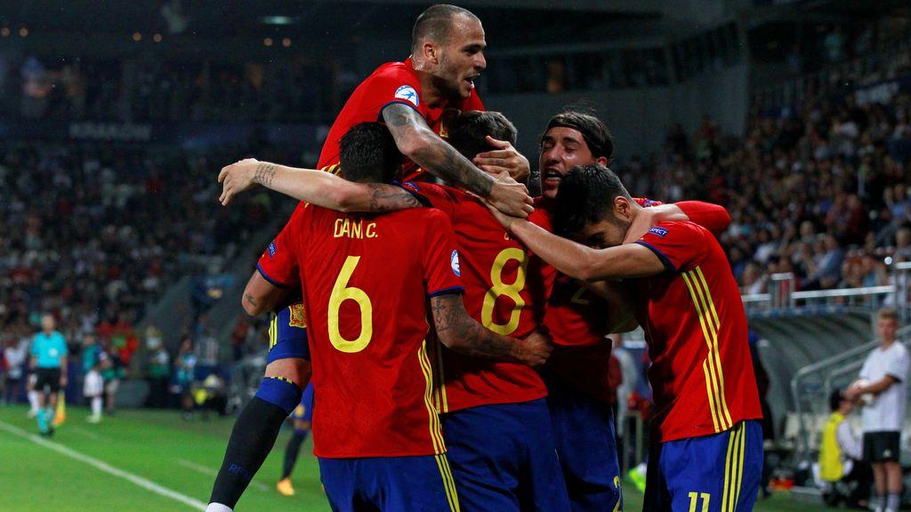 ¡A por la quinta! Alemania-España, la final de la Euro Sub-21 este viernes a las 20.45 en Cuatro y Mitele.es