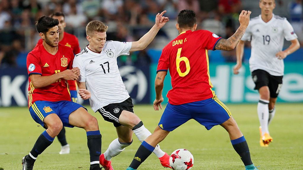 Final Europeo Sub-21: Alemania-España
