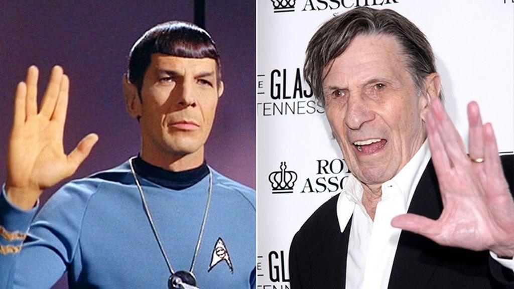 Leonard Nimoy, Mr. Spock de 'Star  Treck', falleció en 2015