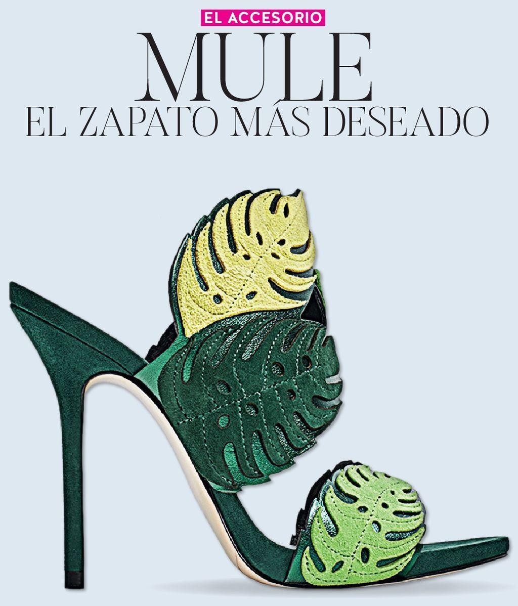 Revista Divinity: mule, el zapato más deseado de este verano